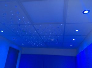 Mood Lights and Fibre Optic Ceiling Used in Calming Rooms